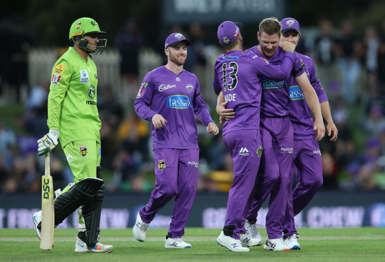 James Faulkner celebrates with Hurricanes