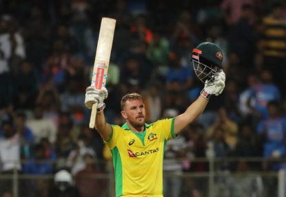 Aaron Finch says Rohit Sharma absence isn't an issue for India
