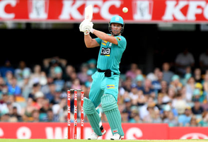 Brisbane Heat vs Melbourne Renegades: Big Bash League cricket live scores, blog