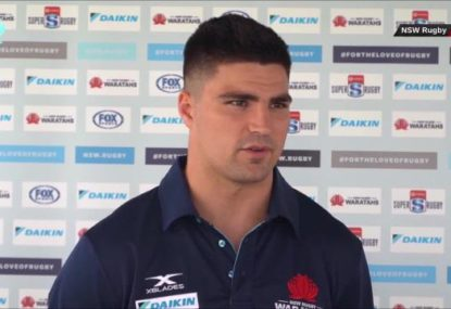 Jack Maddocks speaks after announcing move to the Waratahs