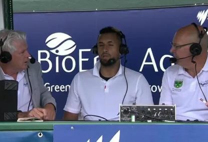 There's more to me than tennis: Kyrgios gives blunt response to commentator