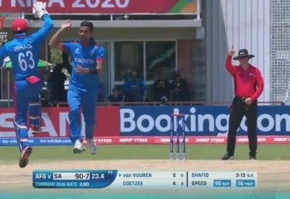 Afghan spinner stuns host nation at Under 19 World Cup with six wicket haul