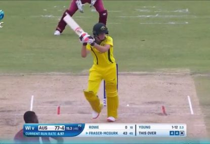 17 year-old Aussie prodigy draws Steve Smith comparisons with sparkling U19 World Cup innings