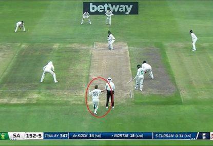 England seamer's bizarre tactic to distract batsman has commentators in stitches