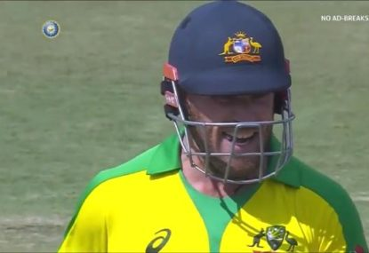 Aaron Finch utterly livid after being barbecued by Steve Smith