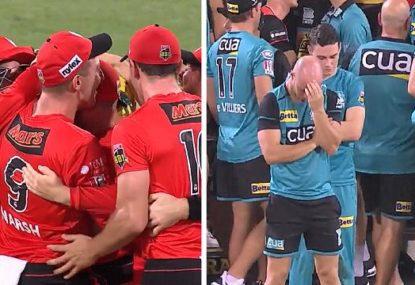 Peak Brisbane Heat as 84-run PowerPlay turns into 7/7 collapse