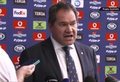 The 'concerning trend' Dave Rennie plans to eliminate from Australian rugby