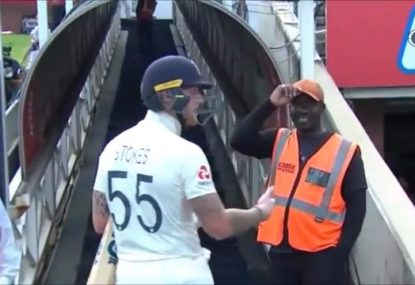 'F---ing four-eyed c---': Ben Stokes goes off at spectactor after alleged Ed Sheeran-themed taunt