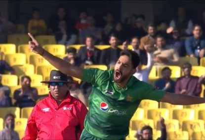 Haris Rauf over the moon after picking up maiden international wicket in the most perfect way