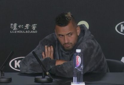 'Do you ever have any positive questions?': Kyrgios' testy answer to injury query