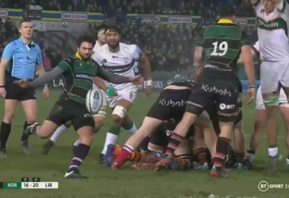 London Irish steal victory with stunning chargedown in final seconds
