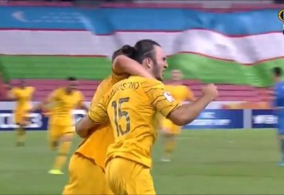 The epic goal that booked the Olyroos a spot at the Tokyo Olympics