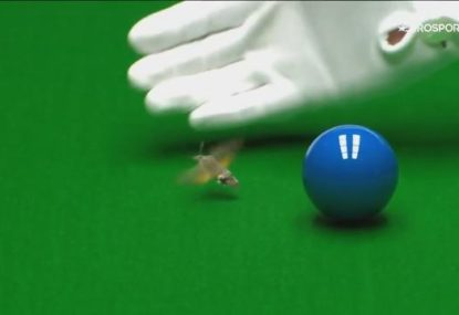 Aussie Neil Robertson's European Masters final victory interrupted by a bug
