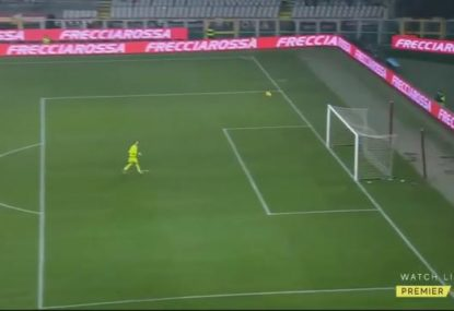 Atalanta star catches keeper in no-man's-land for spectacular halfway goal