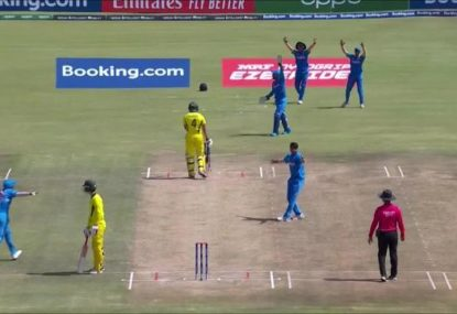 Is this India U19s appeal for 'obstructing the field' against the spirit of the game?