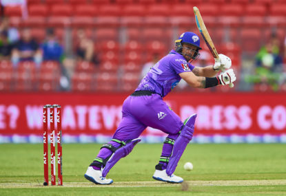 Hobart Hurricanes vs Perth Scorchers: Big Bash League cricket live scores, blog