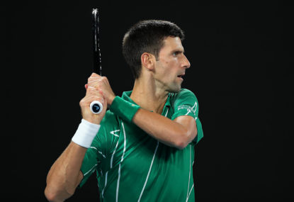 Beating Novak Djokovic is not always the path to glory