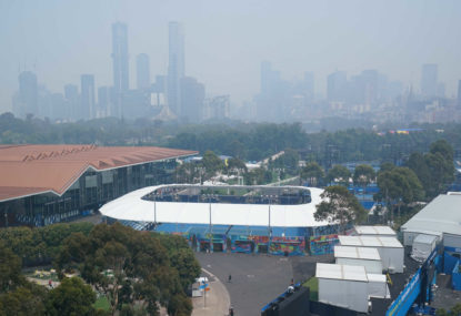 More smoke forecast for Australian Open qualifying