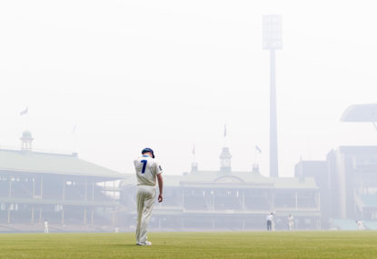 Time for sport to realise climate change is its fight, too