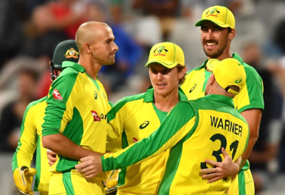 Australia thrash Proteas to take number one ranking