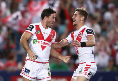 Where can the mighty Dragons expect to finish this NRL season?