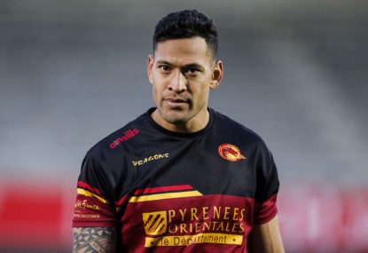 Has Israel Folau skipped out on Super League?