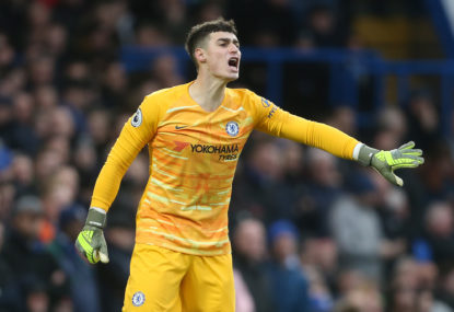 Chelsea's goalkeeping woes under the spotlight
