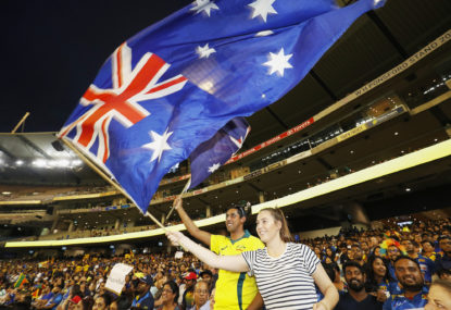 AFL grand final on a coronavirus collision course with T20 World Cup