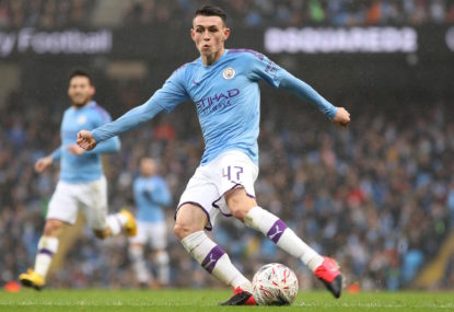 What time is it? It's Phil Foden's
