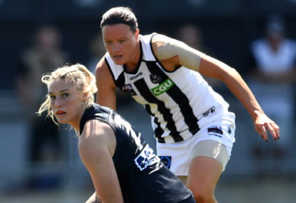 Trash talk has come to AFLW and I couldn't be happier