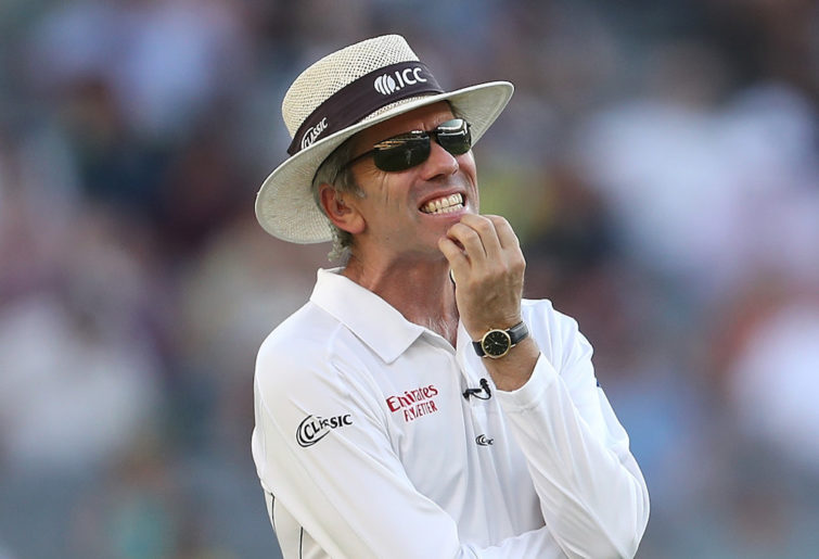 Umpire Nigel Llong