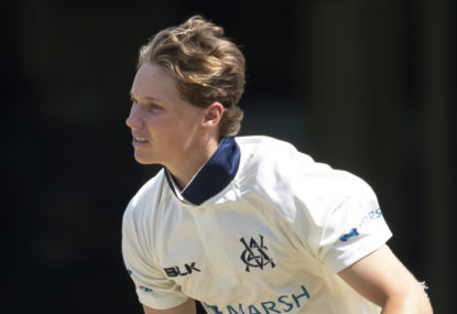 Teenager Wil Parker has all the right ingredients to be the future of Aussie leg spin