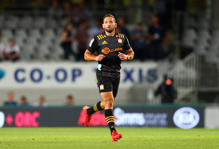 Aaron Cruden playing for the Chiefs