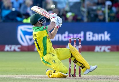 Australia choke against South Africa