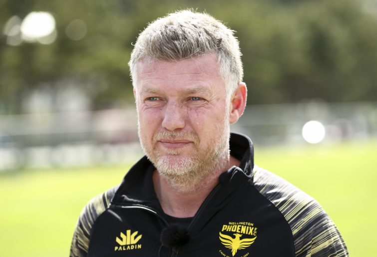 Wellington Phoenix manager Ufuk Talay