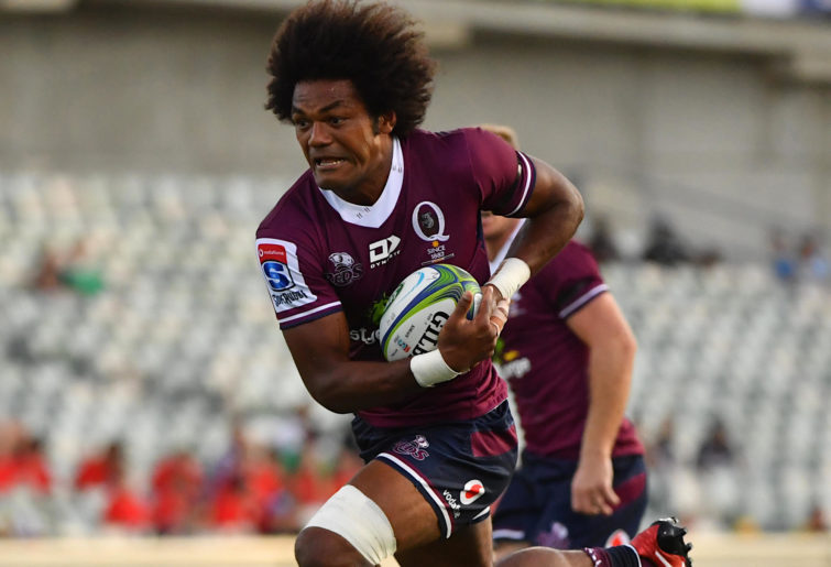 Henry Speight makes a run for the Reds