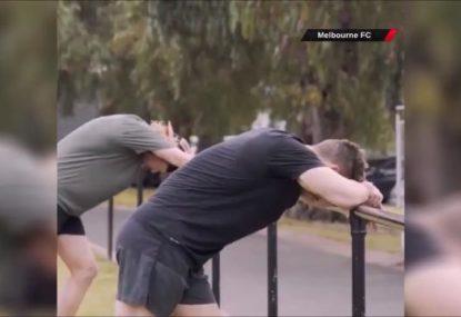 Melbourne Demons release sneak peak at new pre-season documentary