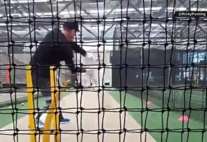 Ricky Ponting's latest net session makes us miss him even more