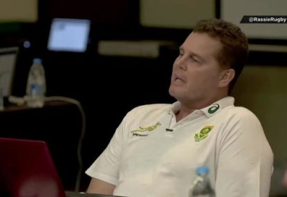 Vision emerges of Springbok coach's epic World Cup speech