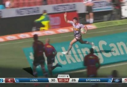Stormers stun the Lions with the match-winning try after the siren
