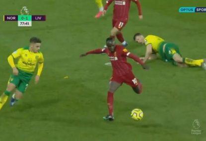 Sadio Mane keeps Liverpool's unbeaten Premier League season intact