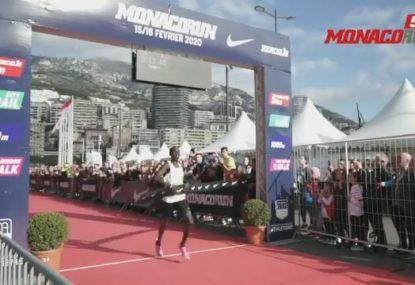 Uganda's Joshua Cheptegei smashes 5km road world record