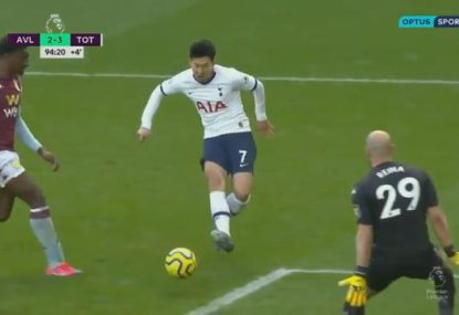 Massive defensive lapse costs Aston Villa against Spurs