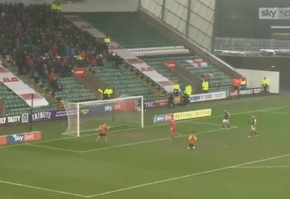 Crewe player comes up with potentially the miss of the decade