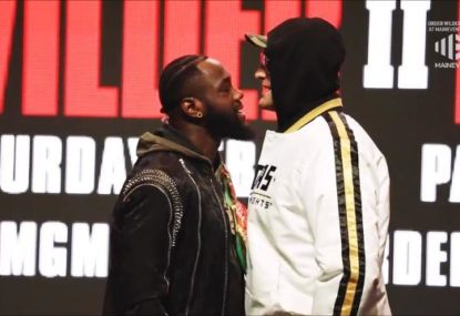 Things get physical between Wilder and Fury in heated final press conference