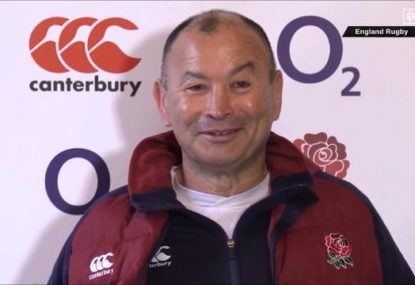 Eddie Jones apologies for 'half-Asian' remark at press conference