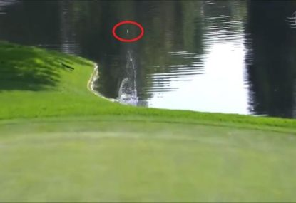 Is this the luckiest moment in golf history?