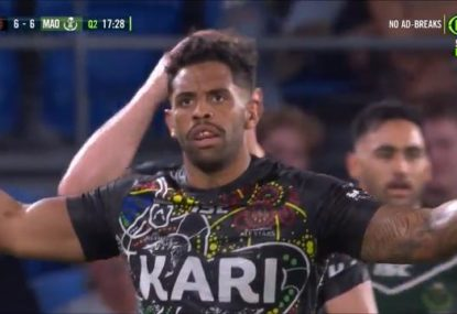 Did the Indigenous All Stars deserve a penalty try for this take-down of the Fox?