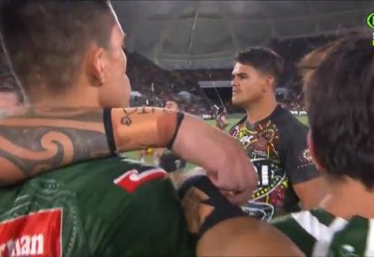 Haka vs war dance in electrifying start to All Stars game