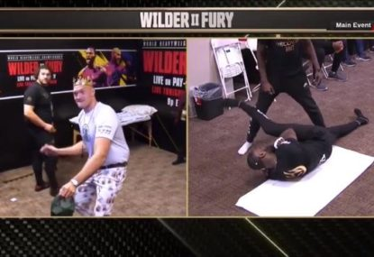 Tyson Fury's absurdly chill pre-fight preparations leave commentators baffled